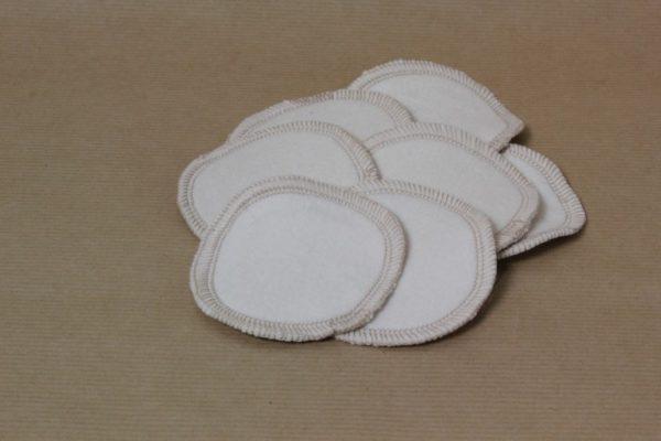 disques démaquillants lavables par 7 - 100 % coton biologique