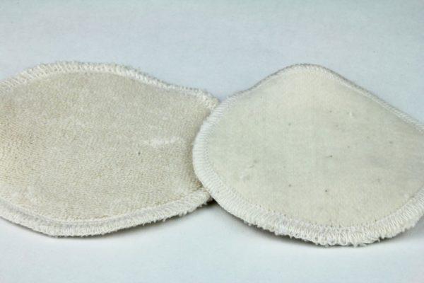 disques démaquillants lavables - 100 % coton biologique