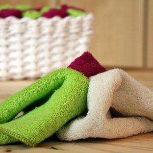 lingettes essuie-tout lavable bio