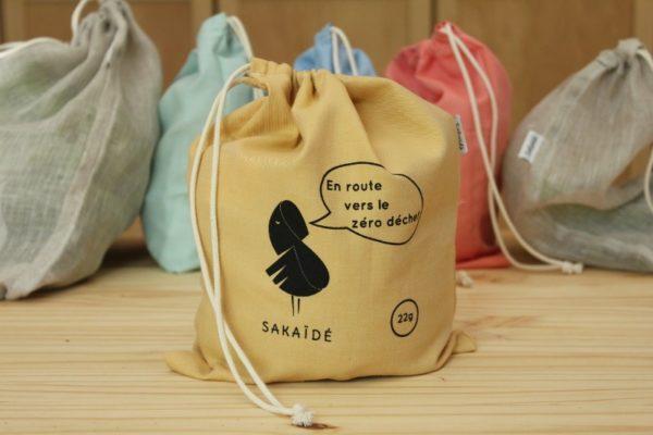 sac à vrac en coton bio Sakaïdé