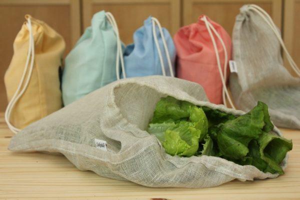 grans sac en lin bio Sakaïdé