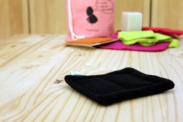 éponge lavable coton bio